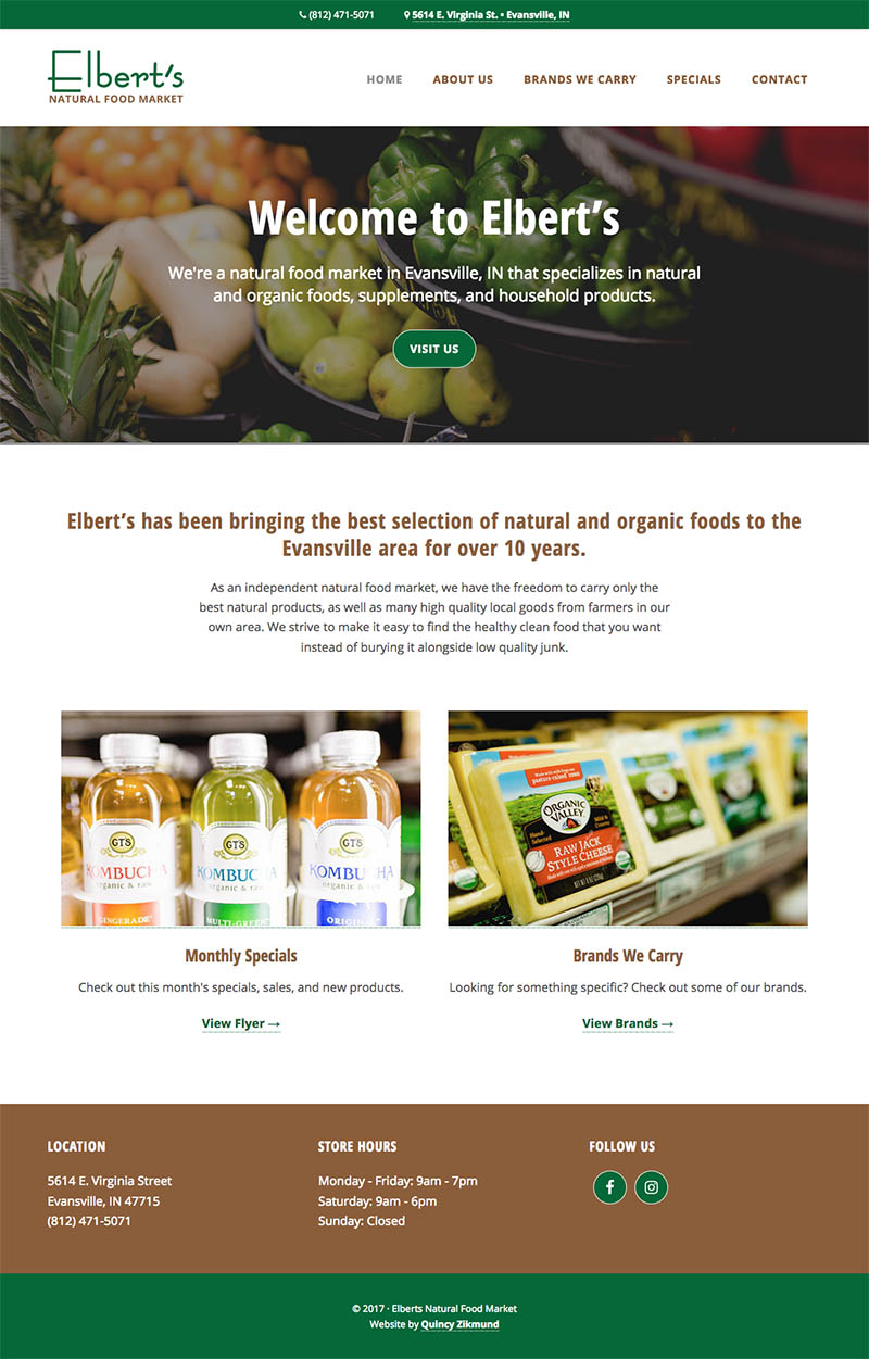 Elbert's Natural Foods